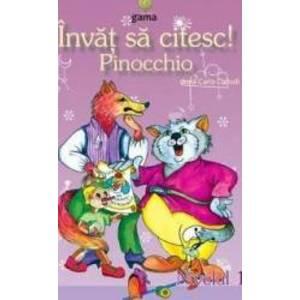 Invat sa citesc Pinocchio imagine