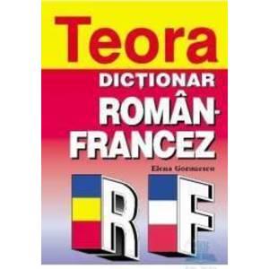 Dictionar Roman Francez - Elena Gorunescu imagine