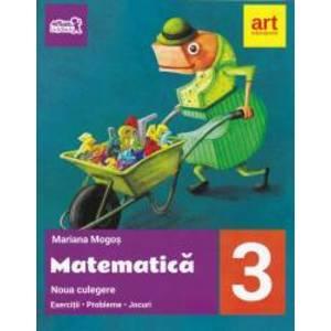 Matematica culegere, pentru clasa a III-a. Noua culegere - Exercitii - Probleme - Jocuri imagine