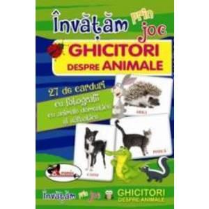 Invatam prin joc - Ghicitori despre animale imagine