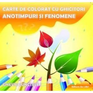 Carte de colorat cu ghicitori - Anotimpuri si fenomene imagine