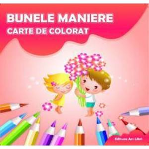Carte de colorat - Bunele maniere imagine
