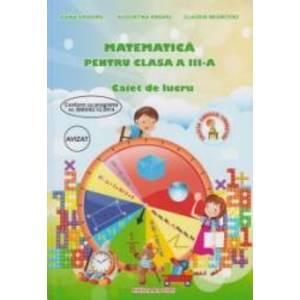 Matematica pentru clasa a III-a - Caiet de lucru imagine