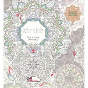 Mandale - Carte de colorat pentru adulti imagine
