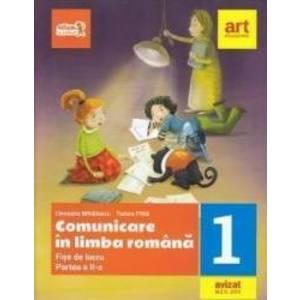 Comunicare in limba romana - Clasa 1. Partea 2 - Fise de lucru - Cleopatra Mihailescu imagine