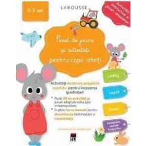Caiet de jocuri si activitati pentru copii isteti 2-3 ani imagine