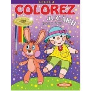 Colorez jucării pentru fetițe imagine