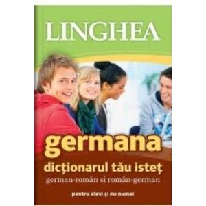 Germana. Dictionarul tau istet german-roman roman-german imagine