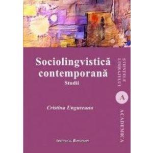 Sociolingvistica contemporana - Cristina Ungureanu imagine