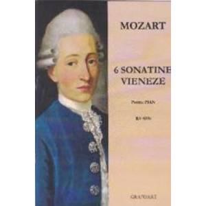 6 Sonatine vieneze pentru pian - Mozart imagine