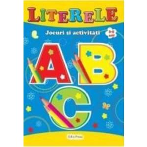 Literele 3-5 ani - Jocuri si activitati imagine