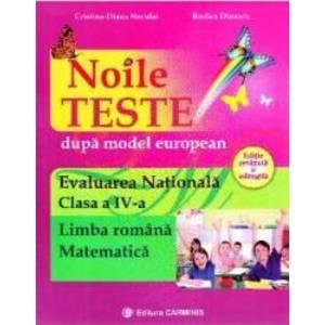 Evaluare nationalala - Clasa 4 - Limba romana. Matematica. Noile teste - Cristina Neculai Rodica Dinescu imagine