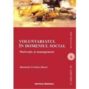 Voluntariatul in domeniul social - Marinela-Cristina Simon imagine