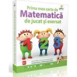 Prima Mea Carte De Matematica De Jucat Si Exersat 5 Ani+ imagine