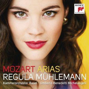 Mozart Arias   Regula Muhlemann, Kammerorchester Basel, Umberto Benedetti Michelangeli imagine