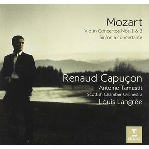 Mozart: Violin Concertos Nos. 1 & 3   Renaud Capucon, Antoine Tamestit imagine