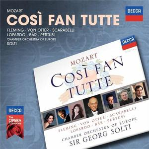 Cosi Fan Tutte   Wolfgang Amadeus Mozart, Renee Fleming, Frank Lopardo, Olaf Bar, Michele Pertusi imagine