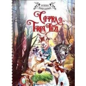 Capra cu trei iezi - Ion Creanga - Povesti ilustrate imagine