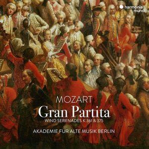 Mozart: Gran Partita - Wind Serenades K361 & 375   Akademie fur Alte Musik Berlin imagine