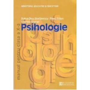 Manual psihologie clasa 10 ed.2013 - Doina-Olga Stefanescu Elena Balan Cristina Stefan imagine