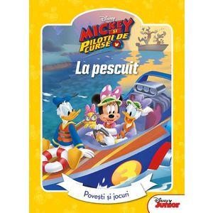 Mickey si pilotii de curse. Povesti si jocuri. La Pescuit | imagine