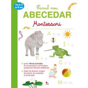 Primul meu abecedar Montessori de la 3 la 6 ani imagine
