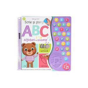 Scrie și șterge. ABC Alfabet cu sunete imagine