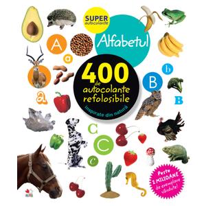 Alfabetul. 400 de autocolante refolosibile imagine