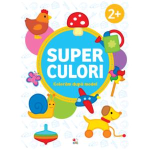 SUPERCULORI. Coloram dupa model 2+ imagine