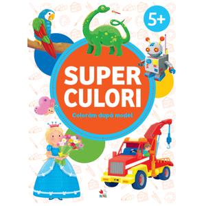 SUPERCULORI. Coloram dupa model 5+ imagine