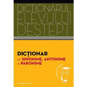 Dictionar de antonime imagine