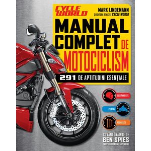 Manual complet de motociclism. 291 de aptitudini esențiale imagine