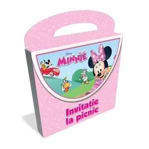 Minnie. Invitație la picnic. Carte tip poșetuță imagine