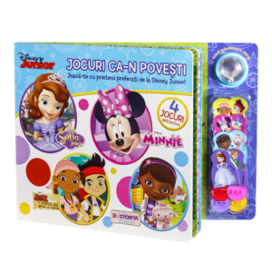 Jocuri ca-n povești. Joacă-te cu prietenii preferați de la Disney Junior! imagine