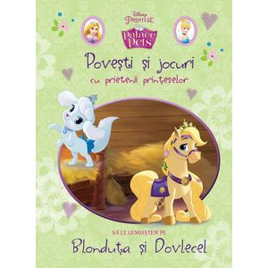 Povești și jocuri cu prietenii prințeselor. Să le cunoaștem pe Blonduța și Dovlecel imagine