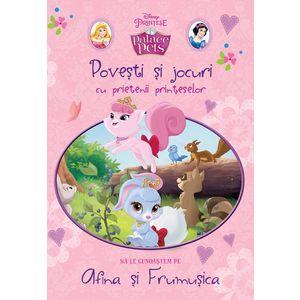 Povești și jocuri cu prietenii prințeselor. Să le cunoaștem pe Afina și Frumușica imagine