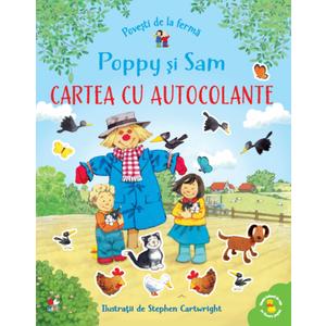 Povești de la fermă. Poppy și Sam. Cartea cu autocolante imagine