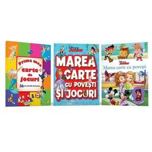 Marea carte cu povesti si jocuri. 50 de autocolante si peste 200 de pagini de activitati - Disney imagine