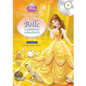 Disney. Prințese. Povești cu prințese. Belle, o prietenă adevărată (Carte+CD) imagine