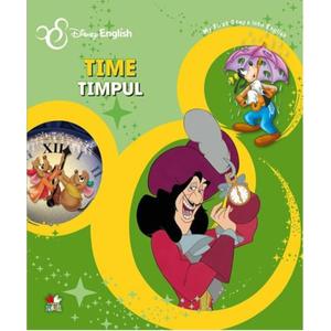 Disney English. Time/Timpul. My First Steps into English imagine