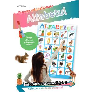 Alfabetul. Planșe educaționale imagine