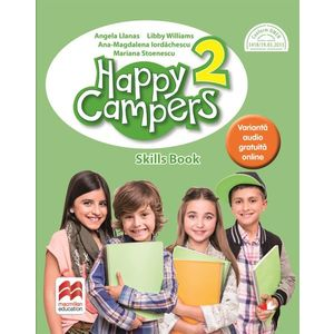 Happy campers. Skills Book. Clasa a II-a imagine