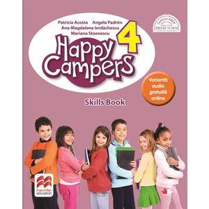Happy campers. Skills Book. Clasa a IV-a imagine