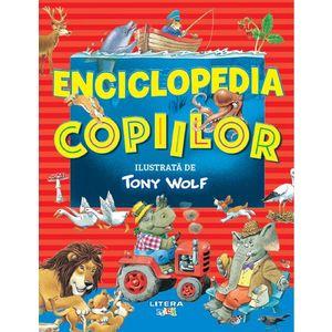 Enciclopedia copiilor ilustrata de Tony Wolf imagine