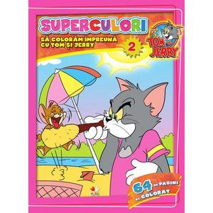 Tom & Jerry. Superculori. Să colorăm împreună cu Tom și Jerry (vol. 2) imagine