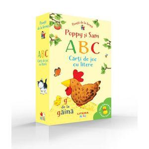 Povesti de la ferma. Poppy si Sam. ABC. Carti de joc cu litere imagine