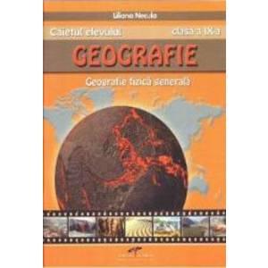 Geografie - Clasa 9 - Caietul elevului - Liliana Necula imagine