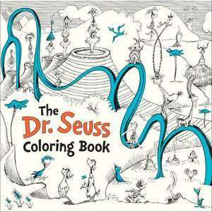 The Dr. Seuss Coloring Book imagine
