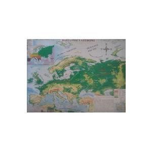 Harta fizica a Europei | imagine