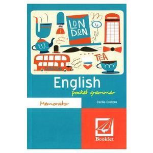 Memorator English pocket grammar - Cecilia Croitoru imagine